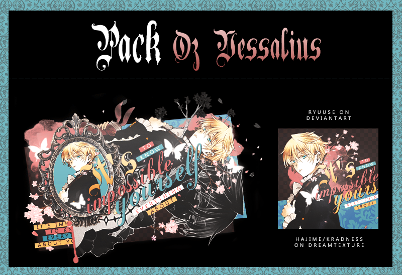 Pack|Oz Vessalius by Ryuuse