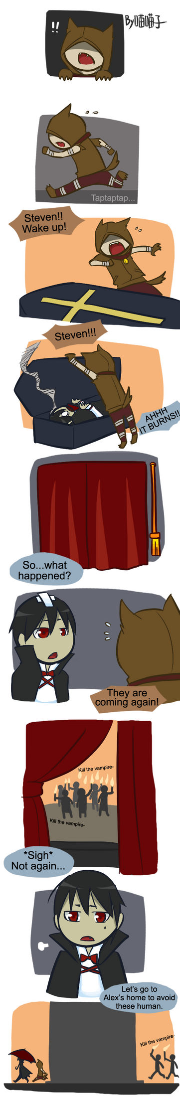 Halloween special comic 01 by aulauly7