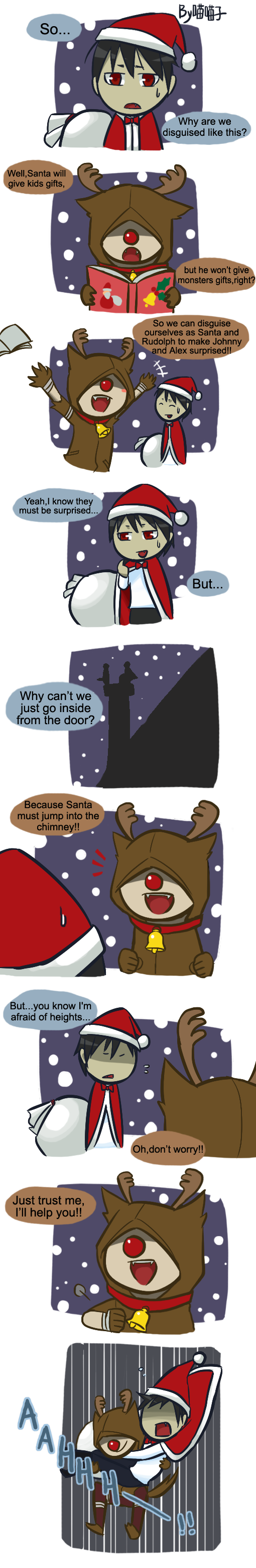 X'mas special comic 01 by aulauly7
