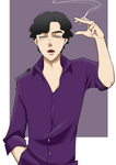 BBC_Sherlock with cigarette