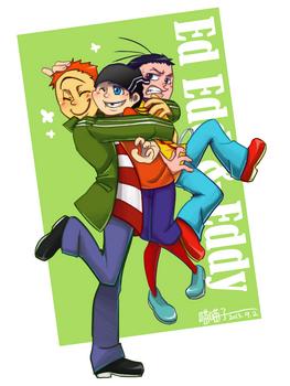 Ed edd and Eddy_Big hug