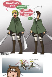 PewdieCry_Attack on titans