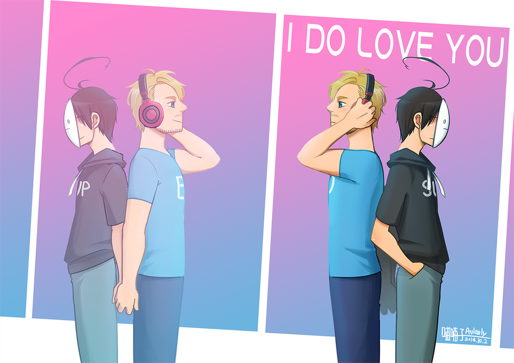 PewdieCry_I DO LOVE YOU by aulauly7
