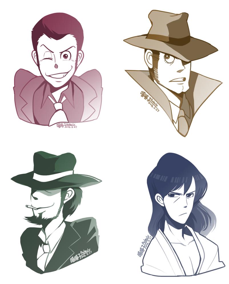 Lupin III by aulauly7