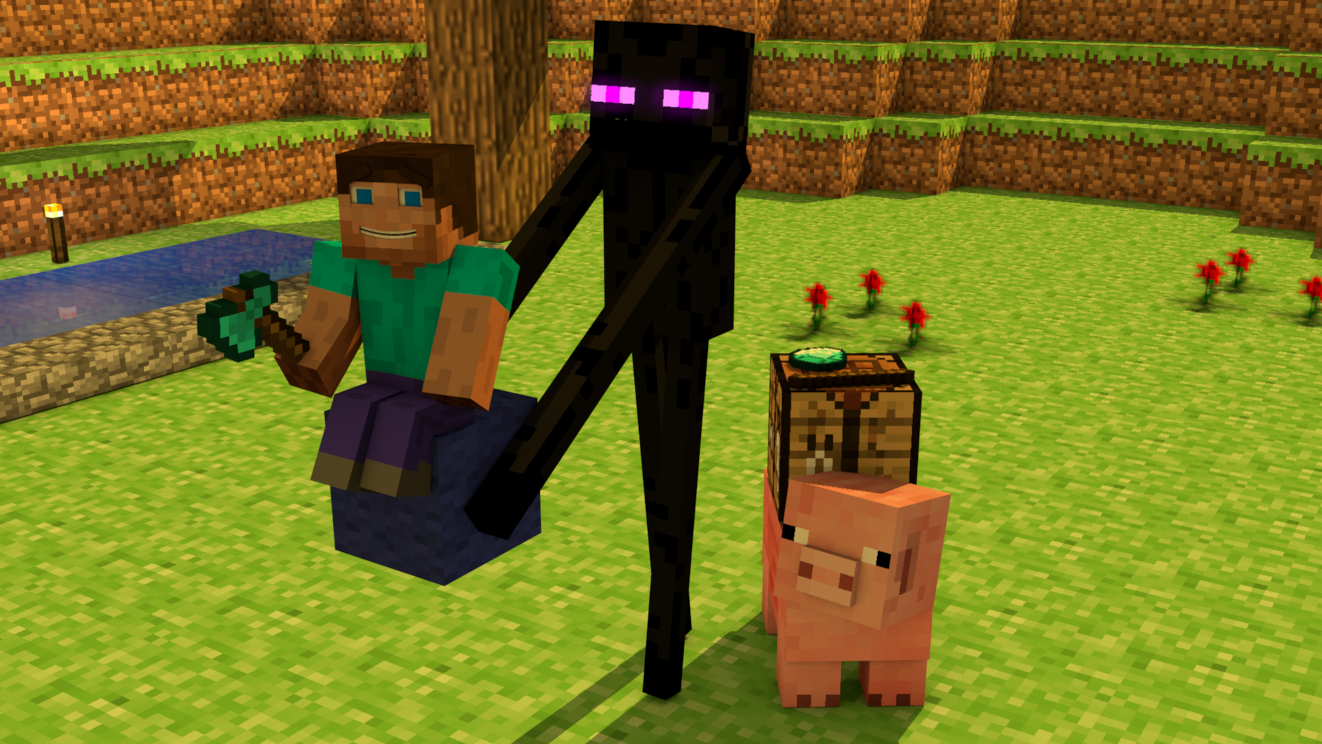 enderman minecraft wallpaper wolf - photo #27