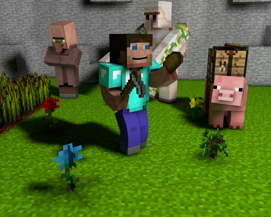 Minecraft Wallpaper Hd 1080p Steve