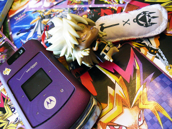 My silly YuGiOh phone by setsuntamew