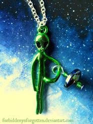 Alien Pendant by Forbiddenynforgotten