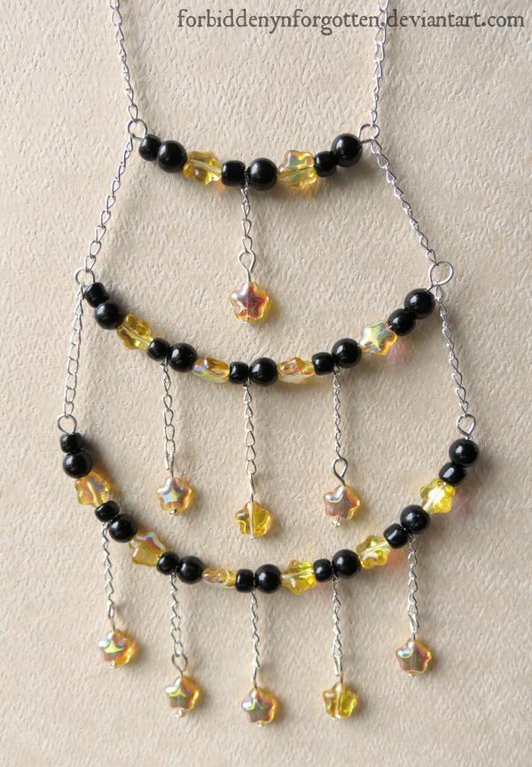Starry Night Necklace by Forbiddenynforgotten