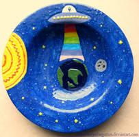 UFO Alien Intervention Bowl