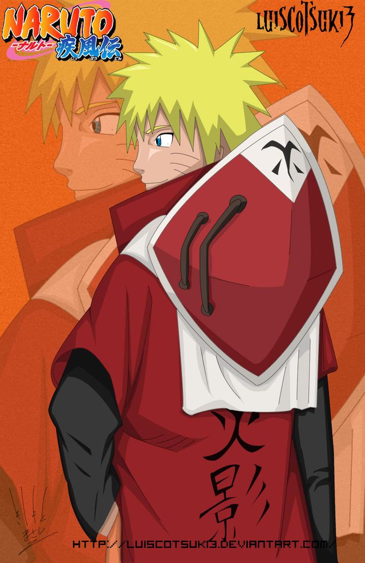 Naruto Hokage by Luiscotsuki3