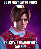 Memes: Bad Luck Leon by Luiscotsuki3