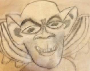 Gargoyle Portrait by DejaVuFlame