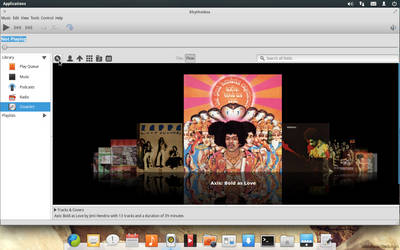 s01 = eOS + Rhythmbox + CoverArt Browser