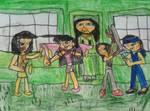 Training Flockurais by Marylemon42