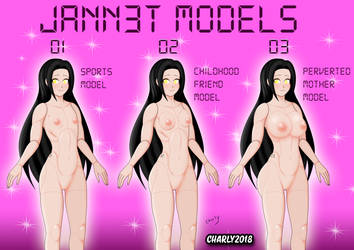 Jann3t Models by charly2018