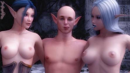 Elvish Lovers by FantasyErotic