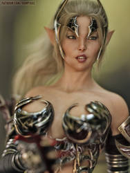 Elf Mylin by FantasyErotic