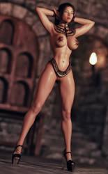 Elf Nia (Fullbody) by FantasyErotic