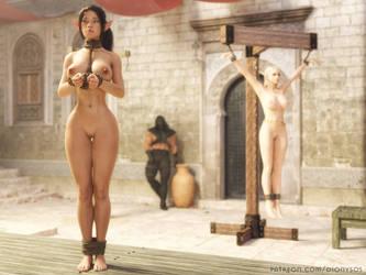 Elf Nia at the Slave Market by FantasyErotic