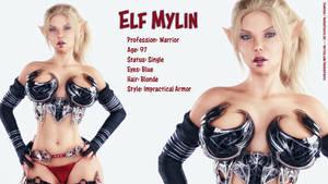 Character Sheet Elf Mylin Part 1
