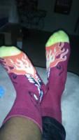 Dragon socks 2 by Black-atom
