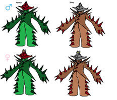 Cactthorn(evo of Cacturne)