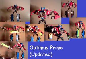 Lego TF Creations: Optimus Prime V.6 (Robot)