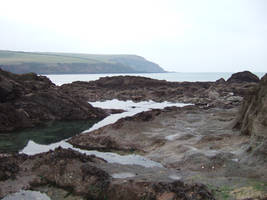 mothercombe beach stock 8 by elixire-stock