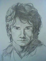 Bilbo Baggins by DoctorArt1