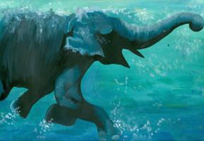 Elephant by o-scarhead-o