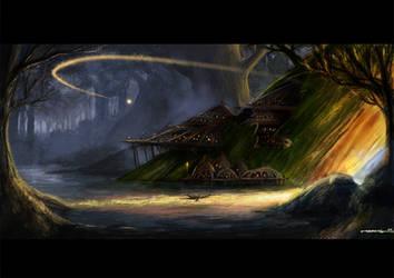 tree houses by bramLeech