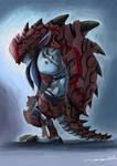 Heavy-armoured Troll