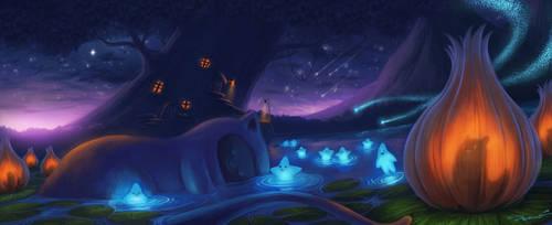 Papu Papu-The Fairies Lake by bramLeech