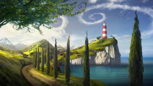 Lighthouse by bramLeech