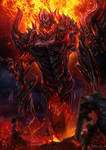 RIFT - Fire Colossus by bramLeech