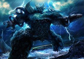 RIFT - Water Colossus by bramLeech