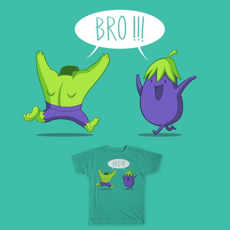 Bro!!! ( Threadless Entry ) by bramLeech