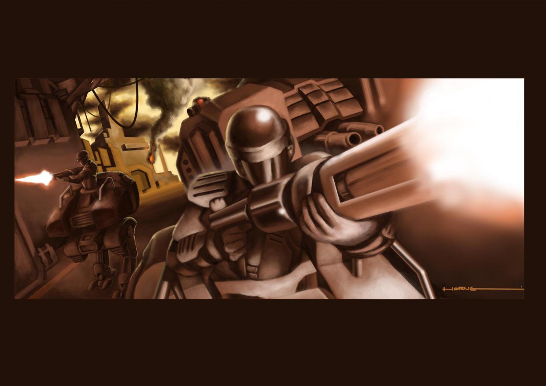 battlefield 214-2 by bramLeech
