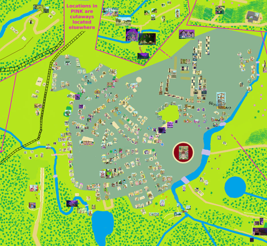 Map of ponyville photo guide v32 by aurek skyclimber on map of ponyville photo guide v32 by aurek skyclimber sciox Choice Image