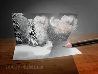christmas card by maxkill300