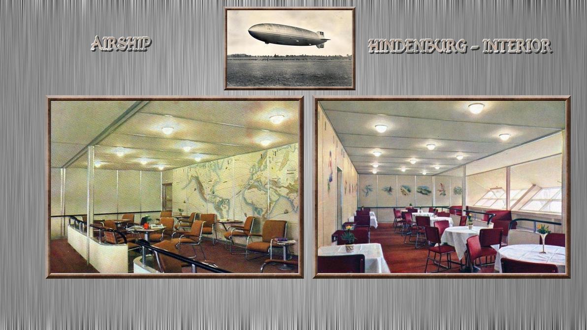 3rd Reich AIRSHIP Hindenburg INTERIORS By PanzerBob ...