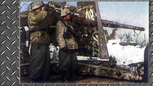 3rd Reich ARTY 88mm FLAK Used In Ground Warfar