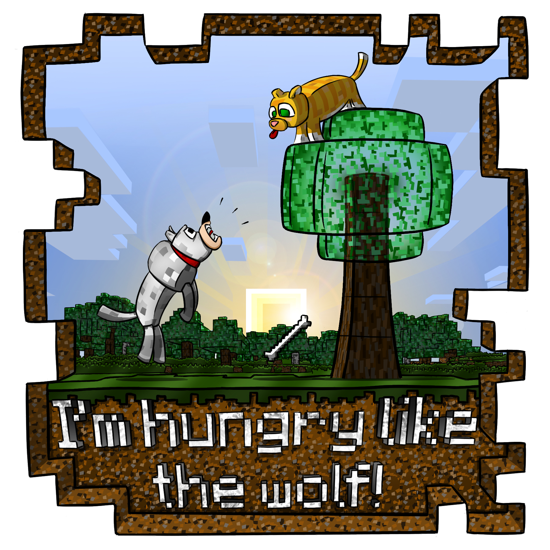 and i m hungry like the wolf
