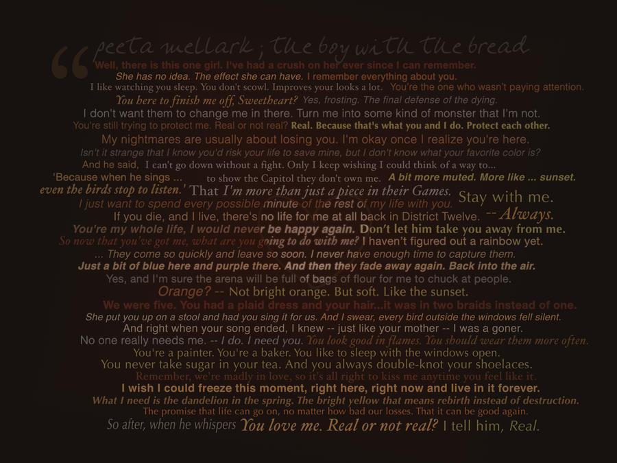 THG - Peeta Quotes Wallpaper by starcatcher42