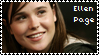 Ellen Page stamp I by xselfdestructive