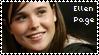 Ellen Page stamp I by xselfdestructive