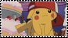 Cute Pikachu stamp