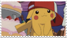 Cute Pikachu stamp by xselfdestructive