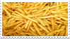french fries stamp by xselfdestructive